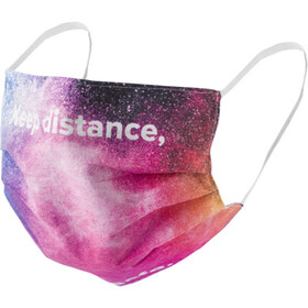 Reusable face mask with all-over print