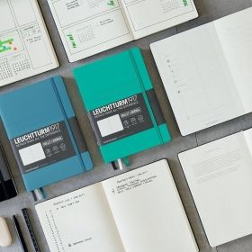 Тефтер А5 Leuchtturm1917 Bullet Jurnal Notebook, твърди корици