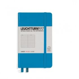 Тефтер А6 Leuchtturm1917 Notebook Pocket. Tвърда корица