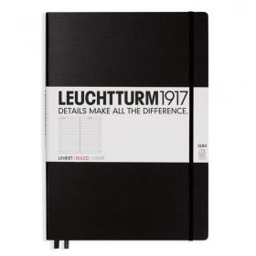 Тефтер А4+ Leuchtturm1917 Notebook Master Slim, твърда корица