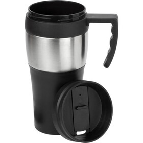 PP and stainless steel travel mug